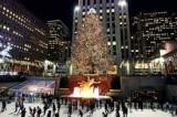 Accensione dell'albero di Natale a New York